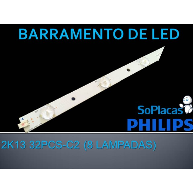 BARRA DE LED PHILIPS 32PFL3800 32PCS-C2
