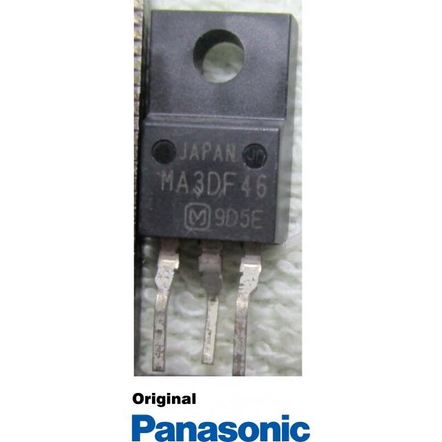 Transistor MA3DF46 Isolado 3 terminais Panasonic Original