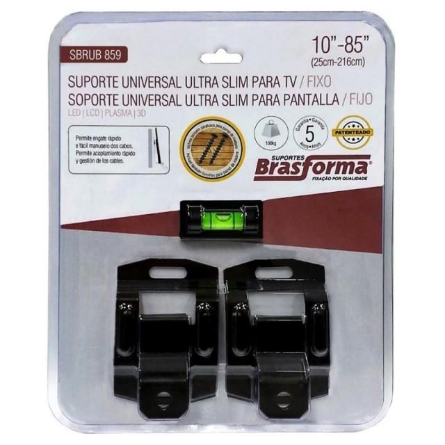 SUPORTE UNIVERSAL FIXO PARA TV LED / LCD ATÉ 85 brasforma SBRUB859