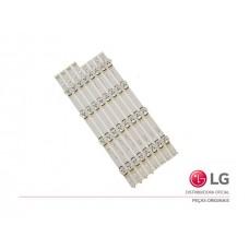 KIT BARRAMENTO LED LG TV LG 42LB5500 42LB5600 42LB5800 42LB6200 42LB6500 42LX330C 42LY340C AGF78402101 NOVO - ORIGINAL