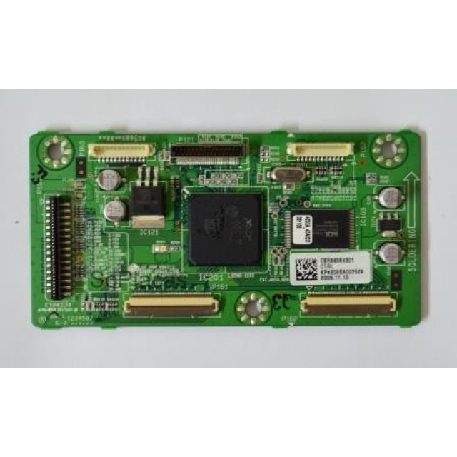 PLACA CTRL LG EBR64064301 EAX60770101  (SEMI NOVA) Placa T-Con LG www.soplacas.tv.br