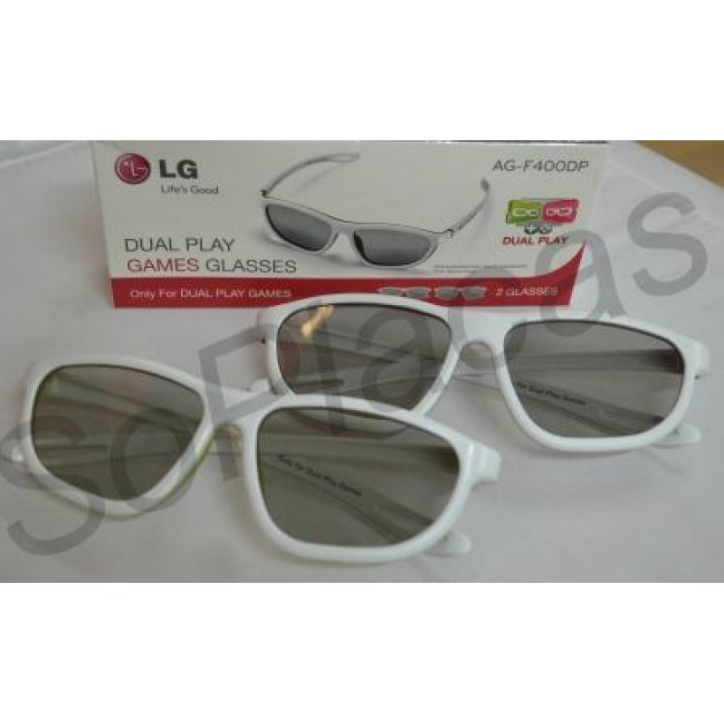 ec2a4f11a OCULOS 3D DUAL PLAY LG AG-F400DP (PAR) 42LM7600 47LA7400 47LM7600 47LM8600  55LA7400 55LA8600 55LA9650 55LA9700 ...