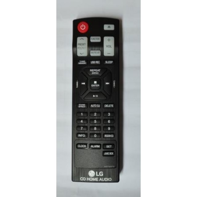 CONTROLE REMOTO LG CM8440 AKB73655751 CONTROLE REMOTO LG www.soplacas.tv.br