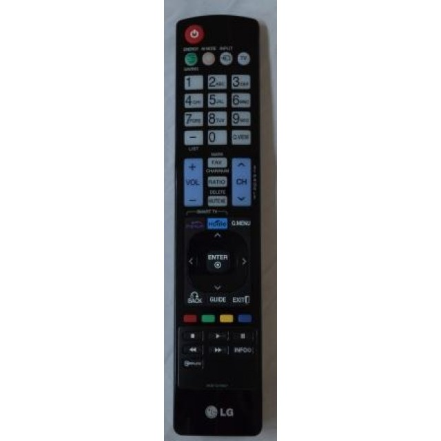 CONTROLE REMOTO LG LV3700 AKB73275667 Home Theater LG www.soplacas.tv.br