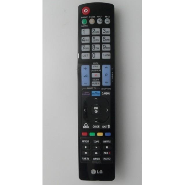 CONTROLE REMOTO LG 47LW5700 AKB74115501 AKB72915214 LG LG www.soplacas.tv.br